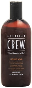 American Crew's Liquid wax