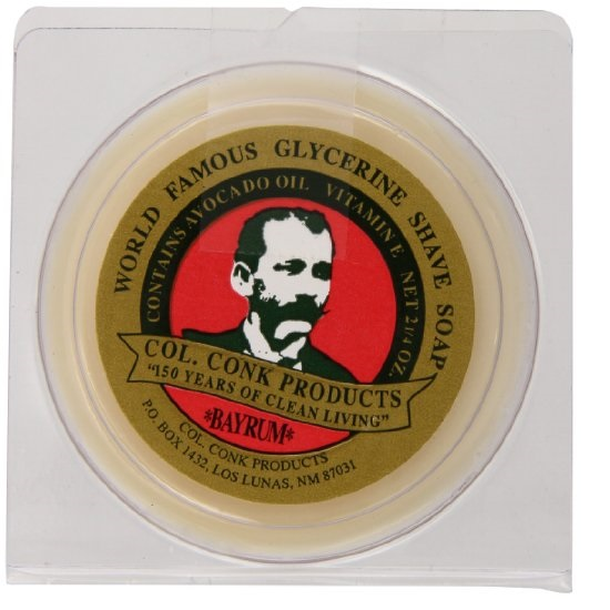 Col Conk Worlds Famous Shaving Soap Bay Rum