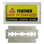 Feather Razor Blades NEW Hi-stainless Double Edge