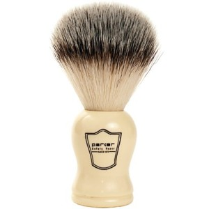 Parker Safety Razor SYNTHETIC Bristle Shaving Brush