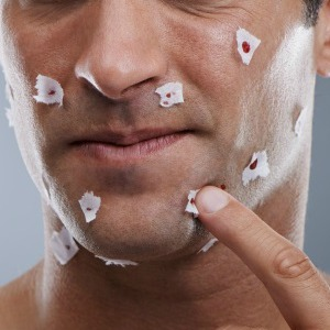 what to do when you cut yourself shaving